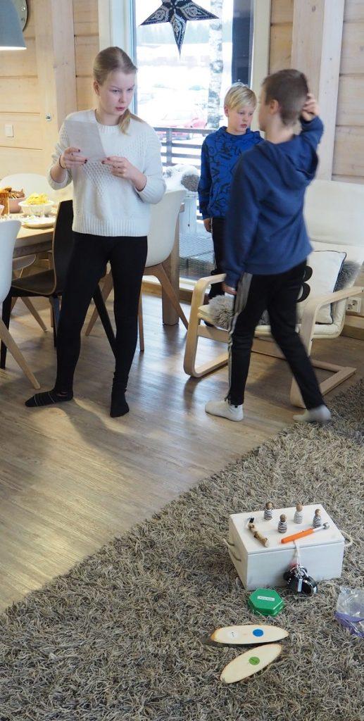 Kotona pelattava pakopeli synttäreille
